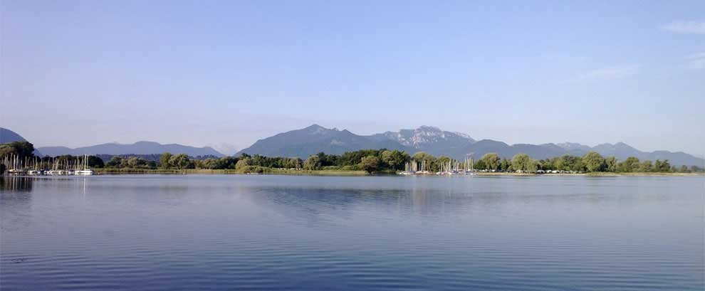 Panorama Feldwies am Chiemsee